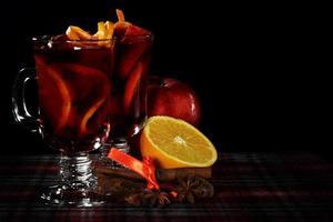vin chaud rouge photo