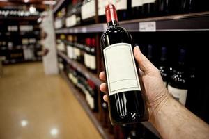 acheter du vin photo