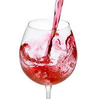 verre à vin rouge photo