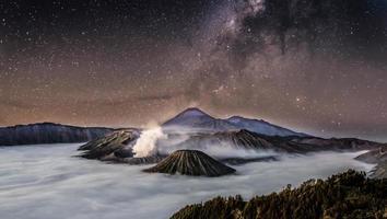 Mont Bromo, parc national de Tengger Semeru, à l'est de Java, Indonésie