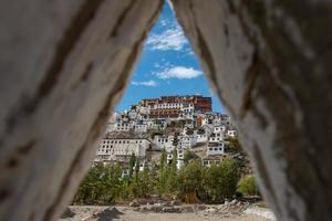 monastère de thiksey, leh ladakh