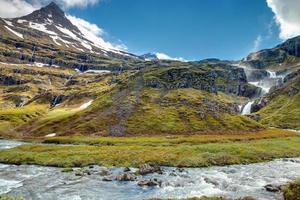 Paysage dans le mjoifjordur, Islande