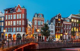 canaux d'Amsterdam photo