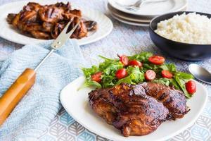 poulet à la goyave hawaïenne