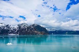 Glacier Bay dans les montagnes, Alaska, États-Unis