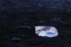 Plage de glace de Jokulsarlon en Islande