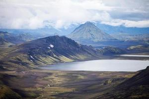 paysage volcanique - landmannalaugar, islande