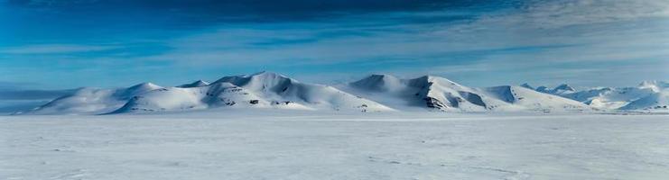 printemps arctique dans le sud du Spitzberg.