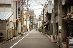 japon - kyoto - rues de kyoto