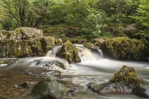 ruisseau et rochers