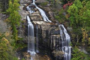 Whitewater Falls partie inférieure