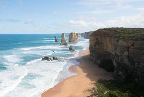 Les douze apôtres, le parc national de Port Campbell, Victoria, Australie