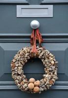 couronne de bûche de Noël
