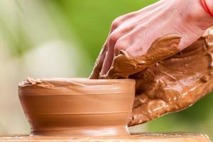détail de poterie