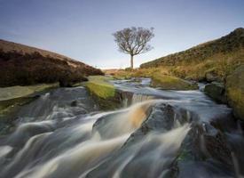cascade de la lande du Yorkshire
