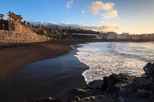 playa jardin, puerto de la cruz. photo