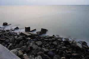 plage de kampung nelayan photo