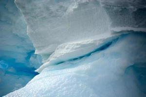 le détail sur une glace