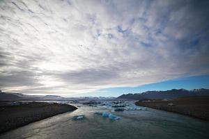 Iceberg lagoon, lac Jokulsarlon, Islande