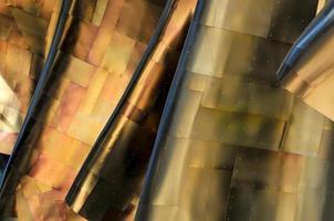 motif de cuivre abstrait