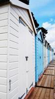 cabines de plage photo