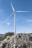 série de turbines photo