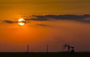 exploitation de puits de pétrole et de gaz photo