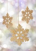 flocon de neige de Noël photo