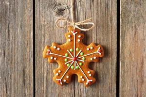 biscuit de pain d'épice maison de Noël photo