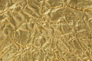 fond de papier doré froissé