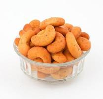 biscuits isolés sur blanc