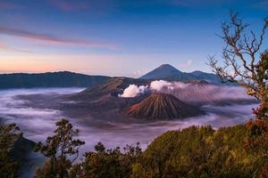 bromo indonésie photo