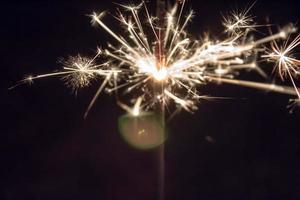 étincelles sparkler