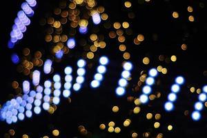 lumières bokeh