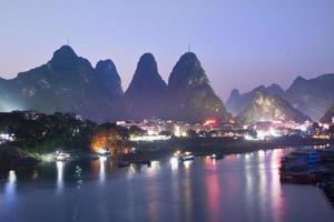 lumières de Yangshuo