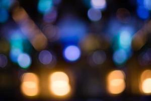 lumières de bokeh photo