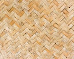 scène de tissage de bambou