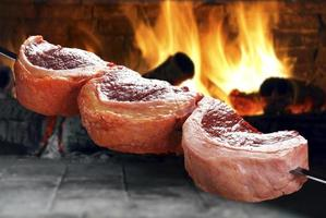 picanha, barbecue brésilien traditionnel. photo