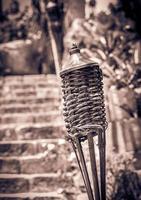 torche sur cimetière mexicain photo