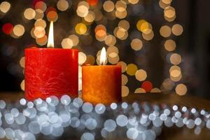 bougies de noel photo