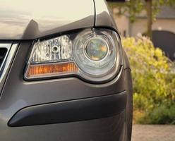 éclairage de la voiture
