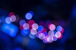 lumières abstraites floues bokeh photo