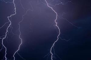 orage en juillet photo