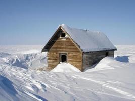 abri arctique abandonné photo