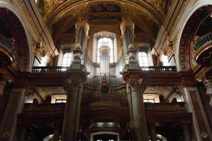 Intérieur de l'église jésuite photo