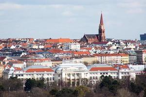 Vue panoramique de Vienne depuis la gloriette photo