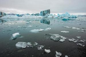 Jokulsarlon, lagune de glace, Islande
