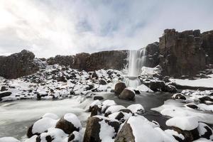 Pingvellir cascade Islande