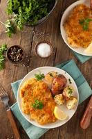 Weiner schnitzel allemand pané fait maison