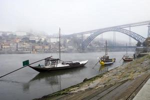 bateaux sur le fleuve douro